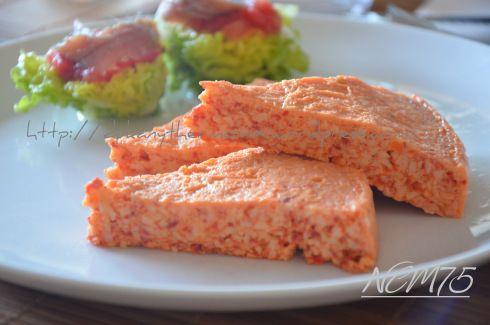 SOUFLE DE PIQUILLO apto para la dieta Dukan: receta para Thermomix, horno o microondas.