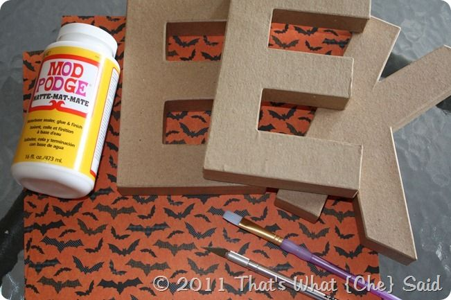 DIY scrapbook Letters - could use for holiday prints and words or name letters and scrap paper that represents that person. .
