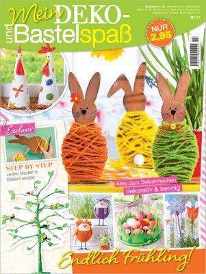 Časopisy o tvoření a šití | Tvoření a dekorace | Mein Deko und Bastelspaß č.17, jaro | Decoupage, ubrousky, dekorace, Twist Art