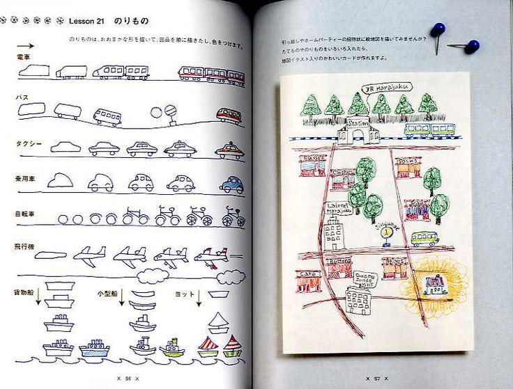 Illustrations with Ball Point Pens - Japanese Book.