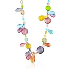 #Antica Murrina Lapilli Long Necklace #Gioielli vetro di Murano