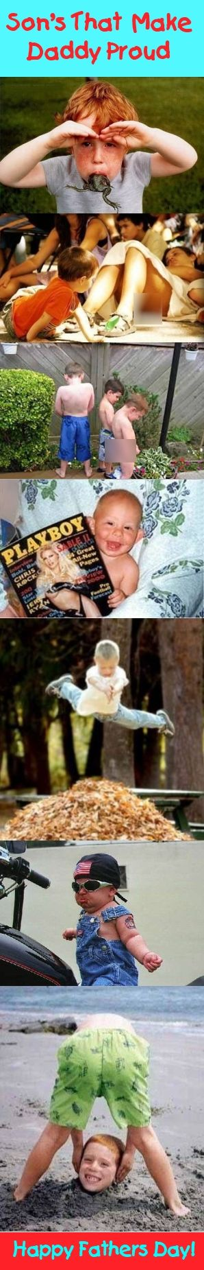 Son's That Make Daddy Proud: Kids Stuff, Hilarious Stuff, Funny Pin, Celebrity Parents