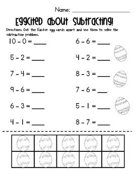Subtraction Worksheets With Counters   Subtraction ...