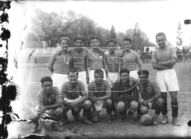 Η ομάδα του Παναθηναϊκού εν έτη 1915