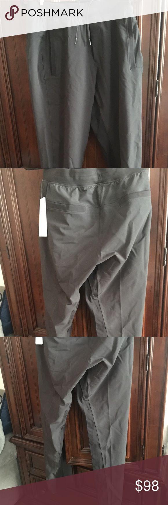Lululemon men's workout pants Long pants with zippered pockets and back pockets lululemon athletica Pants Sweatpants & Joggers