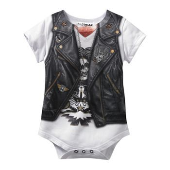 Faux Real Nerd Bodysuit - Baby