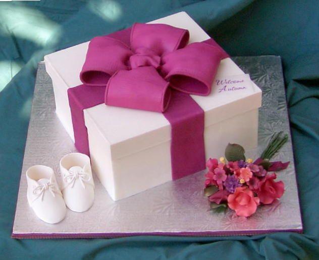 Cake Box Bow