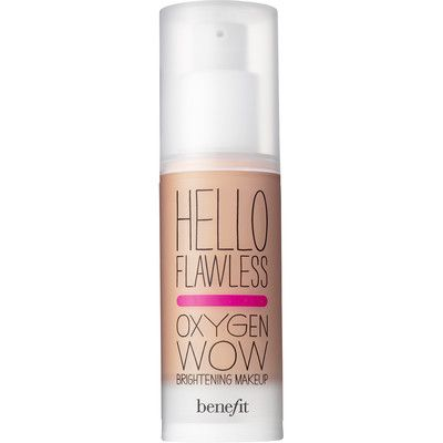 Hello Flawless Oxygen Wow! Benefit Cosmetics Foundation. Shade: Ivory