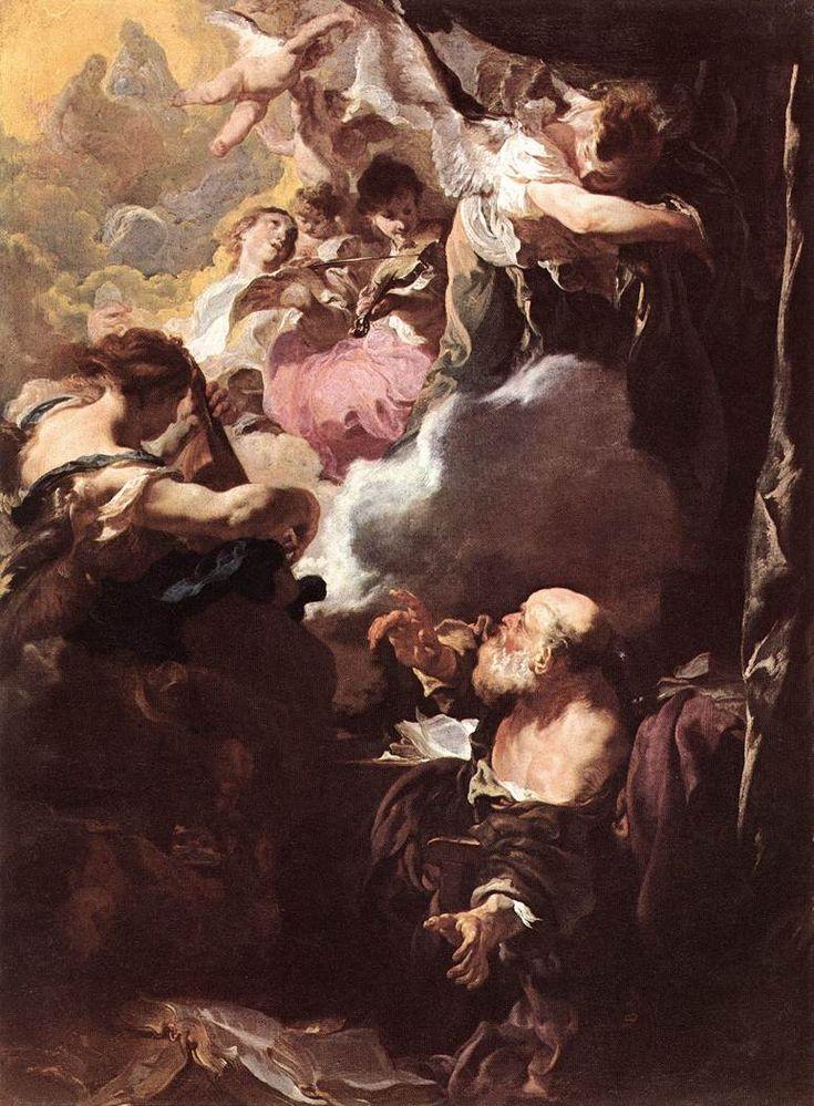 The Athenaeum - The Ecstasy of Saint Paul (Johann Liss - )