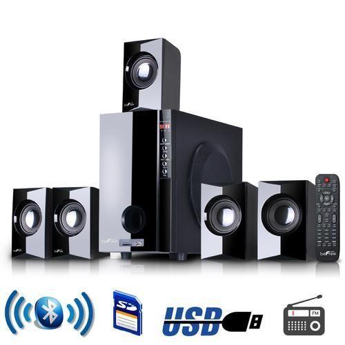 beFree Sound 5.1 Channel Surround Sound Bluetoot Speaker System D970-BFS-430-BLK