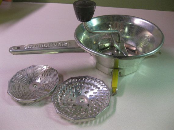 Moulin-Legumes Vegetable GraterPotato Ricer Food Mill by attic41