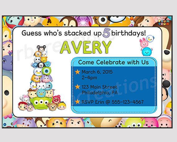 Tsum Tsum Fiesta De Cumpleaños Para Colorear Páginas Libro De: 1248 Best Birthdays/Parties Images On Pinterest