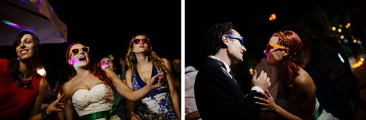 Sunglasses for guest bride and groom ! http://www.fantasiaromantica.com  Wedding Destination Photographer: Florence   Europe | Martina   Fabrizio Wedding in a Tuscan villa | http://www.tastino0.it