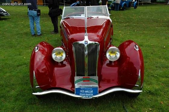 1935 Amilcar Type G36 Pegasé - conceptcarz.com