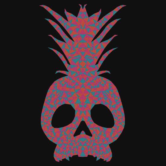 Geometric Skull/Pineapple