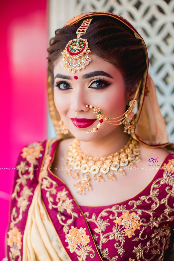 Bride at Jasmine Beauty Care, Ahmedabad.  Makeup : Richa Dave Hairstyle : Prarthi Dave and Urvashi Dave Photography : Yash Gajjar  For more updates please follow us on  Instagram : https://instagram.com/jasmine_beauty_care  #makeup #artist #mascara #eyeshadow #eyelashes #lipstick #earrings #eyeliner #highlight #tar #eyebrows #lashes #latest #style #fashion #beautiful #gourgious #jewelry #photography #red #white #dressyourface #dressyourfacelive #indian