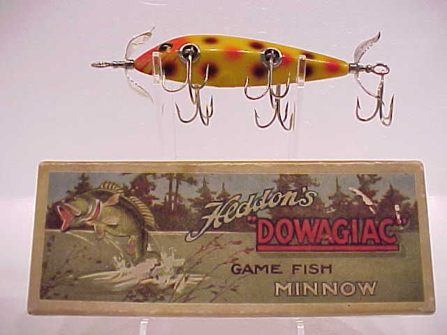 318 best antique fishing lures images on pinterest for Antique fishing lures prices