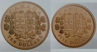 1912 - 2002 FIVE AND TEN DOLLAR GOLD COINS  #CanadianMint #Canadian #Mint $1,450.00
