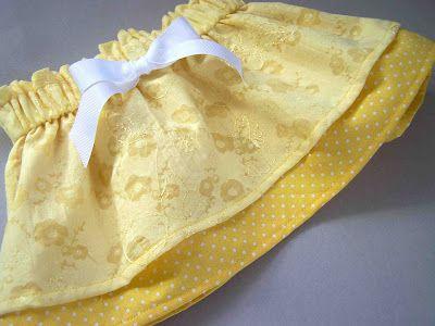The Buttercup Skirt Tutorial