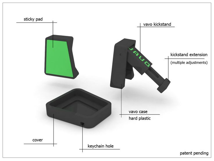 Vavo is an ultra portable universal smart phone and smart device accessory. It has 2 simple functions, propping your device at a variety of angles and mounting your device on flat vertical surfaces for viewing purposes. As a result you can watch movies, capture steady photos, video conference, have a visual cooking aide and much, much more. Our smart devices go everywhere with us now so can Vavo.: Device Accessory, Steady Photos, Watch Movies, Smart Devices