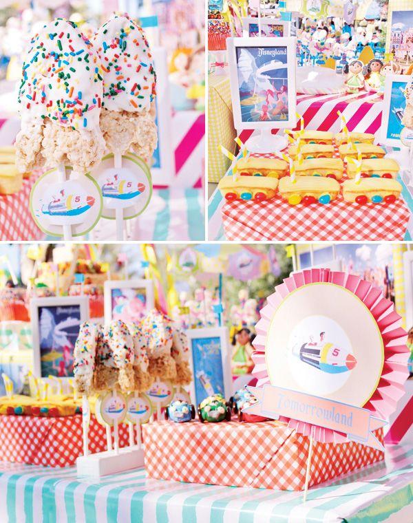 AMAZEBALLS!!!! Vintage Disneyland Amusement Park Party