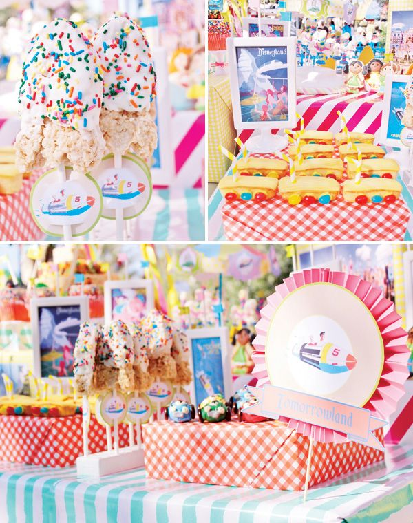 AMAZEBALLS!!!! Vintage Disneyland Amusement Park Party