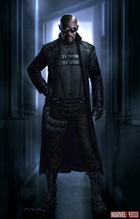 What do you think of this Nick Fury concept art by Andy Park from Marvel's The Avengers?    http://marvel.com/news/story/19401/designing_the_avengers_nick_fury_the_agents_of_shield.