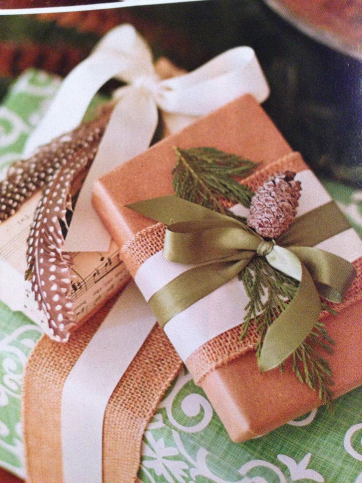 Christmas Gift Wrapping With Burlap Christmas Gift
