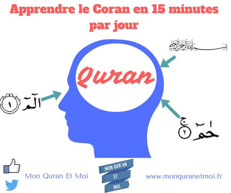 Apprendre le Coran méthode d'apprentissage simple, rapide et éfficace pour les personnes qui n'ont pas le temps entre le travail et le foyer.