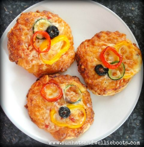 Mini Olympic Pizzas from Sun Hats & Wellie Boots