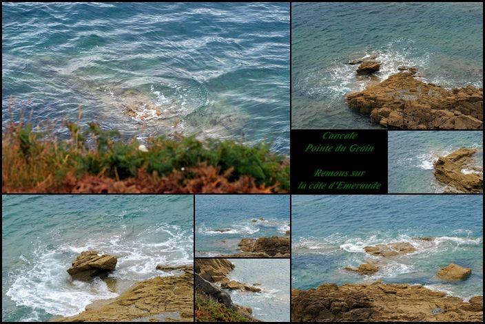 Cancale Pointe du Groin Remous sur la Côte d'Emeraude
