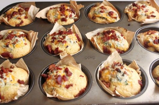 Cornbread jalapeno, cheese & bacon bites - I made these for NYE and they were really good & the perfect bite. I made mini ones and they had the perfect amt of jalapeno & creamy cheese with crunchy bacon in a little bite. These are a great party food :)