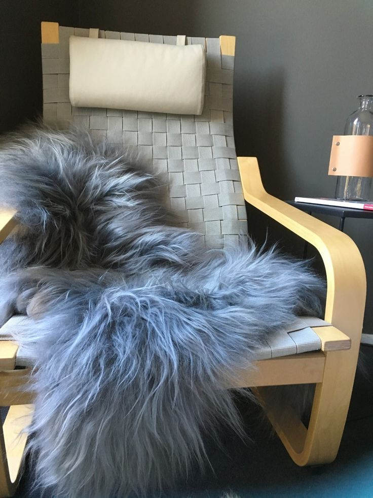 Large grey Icelandic sheepskin.Long hair Icelandic measuring approx 110cm in length 60cm in widthPerfect for styling your home on a bed, couch, office chair or nursery.Please be aware t...