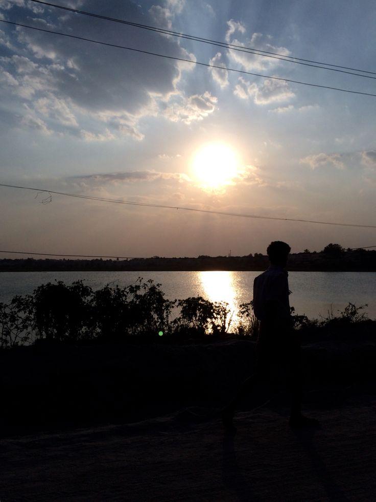 Sunset @ Hosur... Amazing pic yet again!