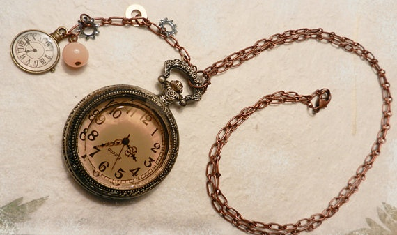 Antique-gold locket-watch.: Pocket Watch, Clock, Pops Open, Antique Jewelry, Antique Gold Locket Watch