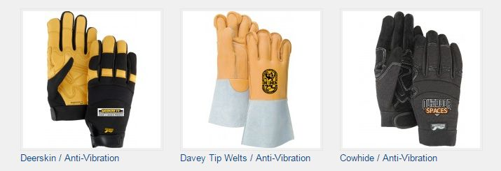 Like all of our gloves, anti-vibration gloves can be customized with your company logo.  #customizegloves