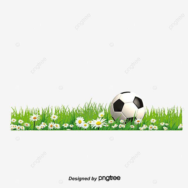 كرة القدم العشب الأخضر قصاصة فنية كرة القدم المرسومة المرج الأخضر Png وملف Psd للتحميل مجانا Soccer Ball Green Green Grass