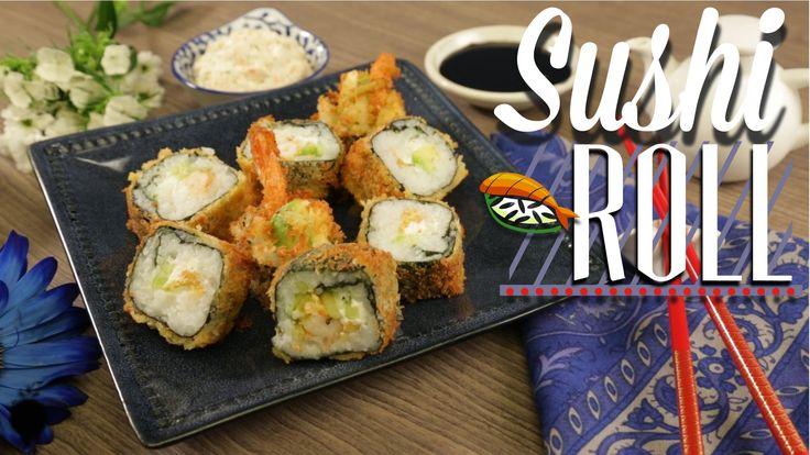 ¿Cómo preparar Sushi Roll de Camarón Empanizado? - Cocina Fresca