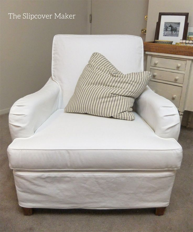 8 Best Susan S White Canvas Slipcovers Images On Pinterest