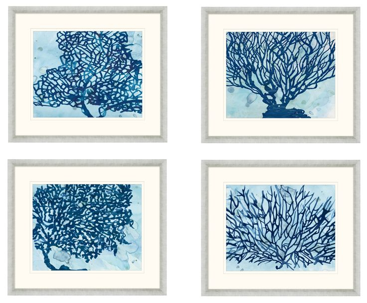 teal wall art set of four navy seagrass on teal framed wall framed 11185