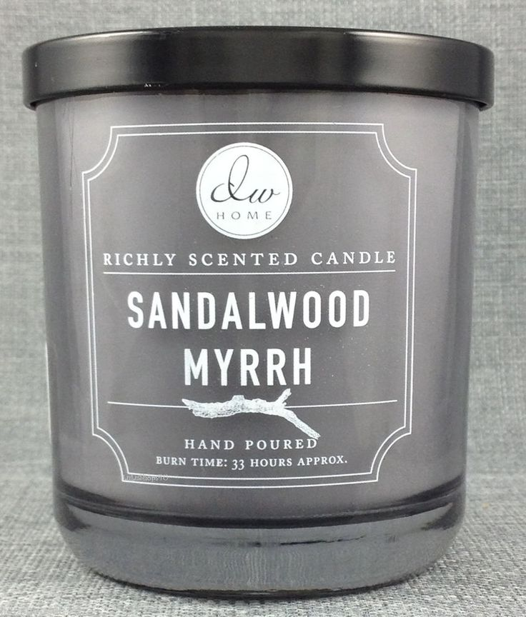 I AM OBSESSED WITH THE SMELL OF THIS CANDLE! DW Home Candle | Sandalwood Myrrh