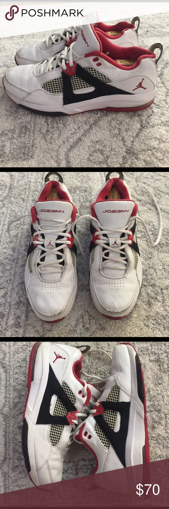 Jordan low top shoes 100% authentic - in good shape and very comfortable. Can be worn for basketball or just casual sneaker Jordan Shoes Sneakers