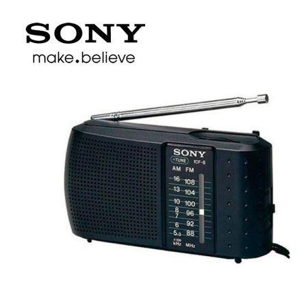 Radio Sony ICF 8 Compacta FM/AM – Para escuchar tus emisoras favoritas