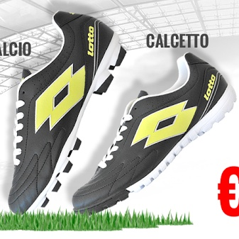 Sei pronto a correre? Grande promozione Calcio o Calcetto SOLO DA GLOBO!!!
