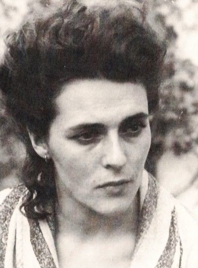 """We went down into the silent garden. Dawn is the time when nothing breathes, the hour of silence. Everything is transfixed, only the light moves."" ~ Leonora Carrington (1917-2011) (photo: Alejandro Jodorowsky)"
