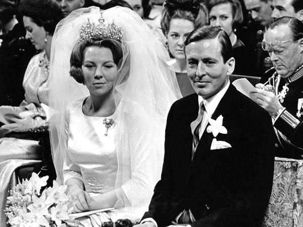 Wedding Day of Queen Beatrix and Claus von Amsberg, the Netherlands