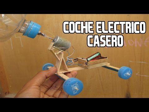Como Hacer un Coche o Carro Electrico Casero Muy Facil Que si Funciona - YouTube