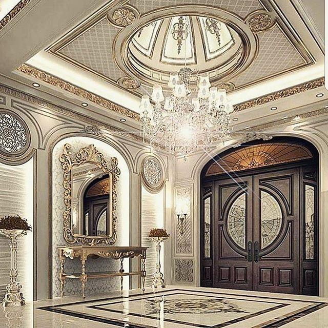 Mydubai Antique Silverleaf Uaedecor Uaedesign Uaepalaces Paint Villas Goldleaf Mar Luxury House Interior Design Luxury Mansions Interior House Design
