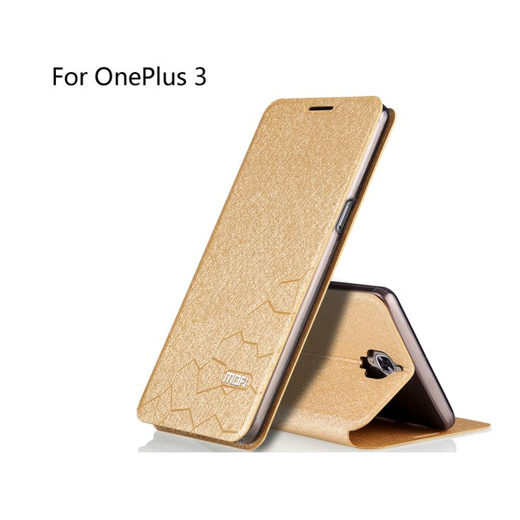 Oneplus 3 case MOFi original A3000 One Plus 3 case cover leather case silicon TPU back cover Oneplus three phone cases fundas