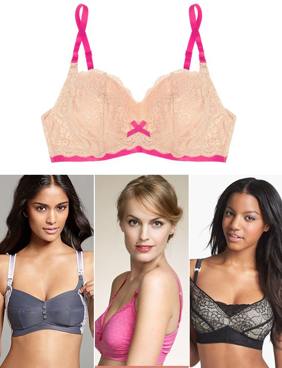 These nursing bras not only are supportive, they are also super cute!